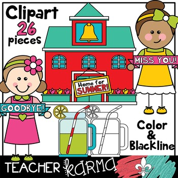 Last Day of School Clipart BUNDLE