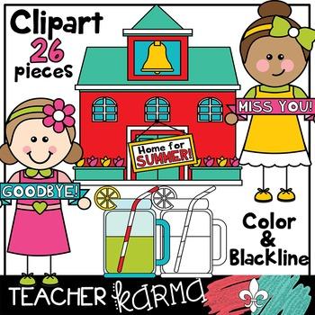 Last Day of School Clipart BUNDLE