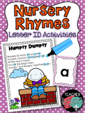 Letter Identification Nursery Rhymes * Rhyming * Phonics * Reading Intervention