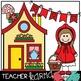 Little Red Riding Hood Clipart * Fairy Tales / Folk Tales