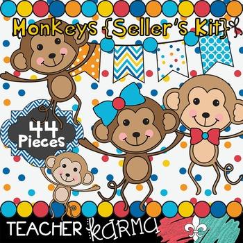 Monkey Fun * SELLER'S KIT