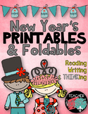 New Year's Printables * Foldables * Activities * 58 Resources