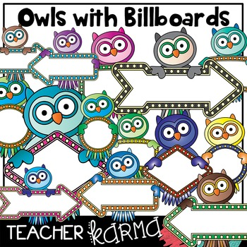OWLS with Billboards Signs