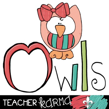 Owl Doodles #2 Clipart ~ Commercial Use OK ~ Animals
