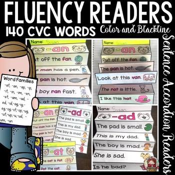 PHONICS: FLUENCY READERS: CVC SENTENCES