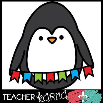 Penguin Peeps SET #2 - Winter Clipart