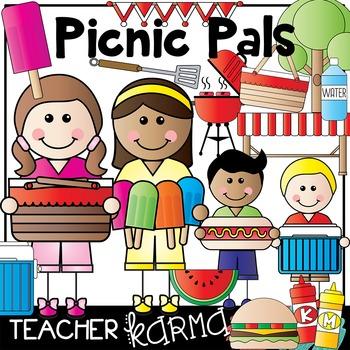 Picnic Pals Clipart * Class Picnic
