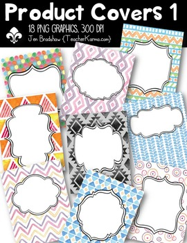 Product Covers #1 for Sellers Clipart ~ Commercial Use OK