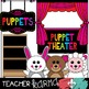 Puppet Theater Animal Clipart * Reader's Theater
