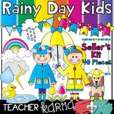 Rainy Day Kids * Seller's Kit * Spring & Summer