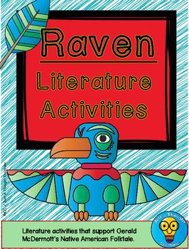 Raven Folktale Activities - Native American - Literature