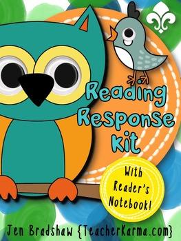 Reading Response Journal Kit ~ Reading Notebook