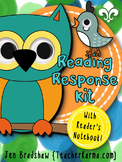 Reading Response Journal Kit ~ Reading Notebook