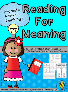 Reading for Meaning - Comprehension