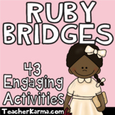 Ruby Bridges NO PREP Printables ~ Black History Month