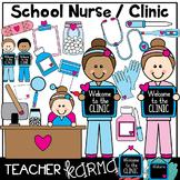 School Nurse & Clinic Clipart