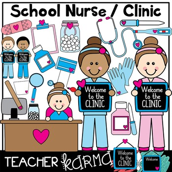 School Nurse & Clinic Clipart