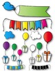 Seller's Kit Bright Surprises Clipart ~ Commercial Use OK