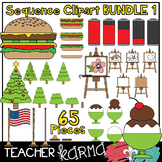 Sequence Clipart BUNDLE 1 * Sequencing