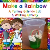 Rainbow Jell-o Science Experiment & How To Writing: St. Patrick's Day Activities