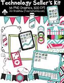 Technology Seller's Clipart Kit