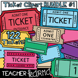 Ticket Templates BUNDLE #1 * Exit Tickets