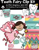 Tooth Fairy Seller's Kit Clipart ~ Commercial Use OK ~ Dental