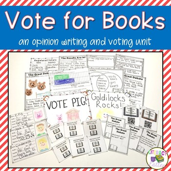 Voting: Our Favorite Book {a social studies and literacy unit}