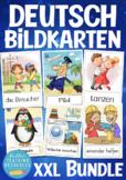 + 900 Bildkarten Deutsch / German picture card BUNDLE! SAVE  $10.00 ! flashcards