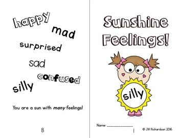 Feelings Emergent Reader Level B (Freebie)