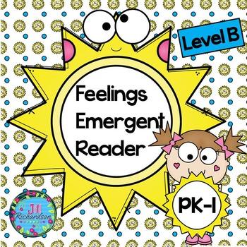 (500 Follower Freebie!)  Sunshine Feelings Emergent Reader