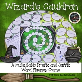 Wizard's Cauldron-Multisyllabic Game Prefix and Suffix Word Fluency