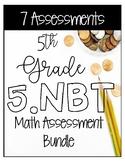 5NBT Math Assessment Bundle - CCSS Aligned