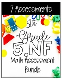 5NF Math Assessment Bundle - Common Core Aligned