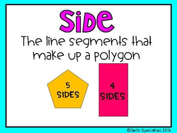 (5th Grade) Envision Math Vocabulary Posters: Topic 15