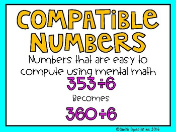 (5th Grade) Envision Math Vocabulary Posters: Topic 5