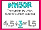 (5th Grade) Envision Math Vocabulary Posters: Topic 7