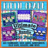 5th Grade Math Curriculum Bundle: 5th Grade Math Review, Y