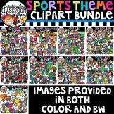 Sports Clipart Bundle {Sports Clipart}