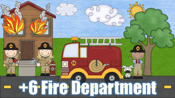 +6 Fire Department - PowerPoint Game