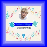 $6 Music For Matthew Digital Paper