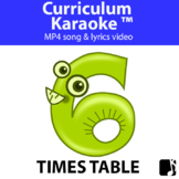 '6 TIMES TABLE' ~ Curriculum Song Video l Distance Learning