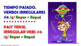#6. Verbos Irregulares en tiempo pasado en español.