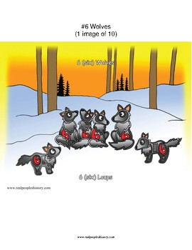 #6 Wolves, First Nations, Numbers