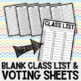 ***60 END-OF-YEAR CLASS AWARDS MOST LIKELY TO CERTIFICATES + VOTING SHEET***
