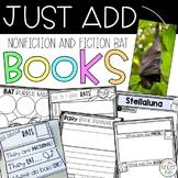 Editable Bat Book Companion Activities