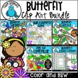 Butterfly Clip Art Bundle - Chirp Graphics