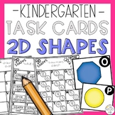 2D Shapes Math Task Card Game