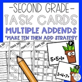 Addition Strategies Task Cards