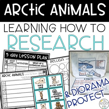 Arctic Animals K-1 Research and Diorama Project